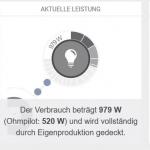 Online Anzeige Solarweb