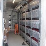 Batterien von Saft, ca 200kWh