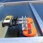 Spezialhalter für den Trika Einstrahlungsmesser, Made by Solarbau Lowel GMBH