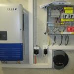 Wechselrichter KACO 12.0TL3 + Überspannungsschutz, Solarlog